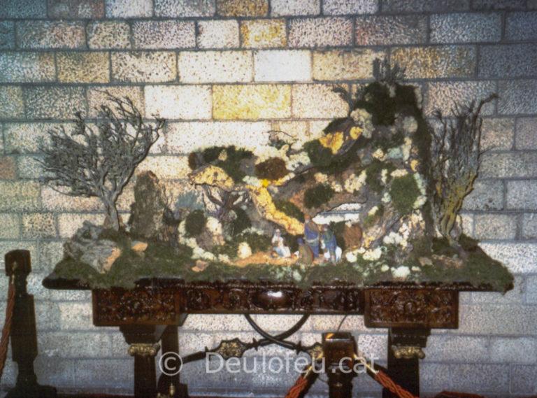 Pessebre – Cova al Patí Central del Palau de la Generalitat