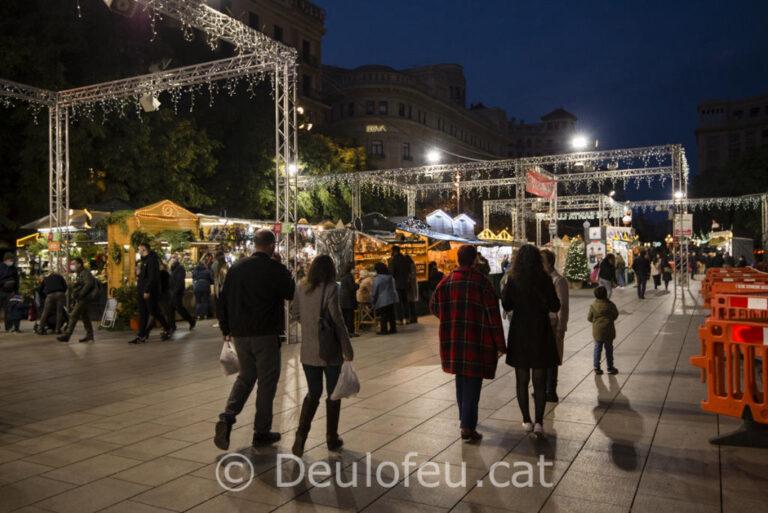 El 26 de novembre arriba el Nadal a Barcelona amb la Fira de Santa Llúcia 2021