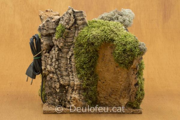 Cova per a figures de col·leccions de 8-10cm