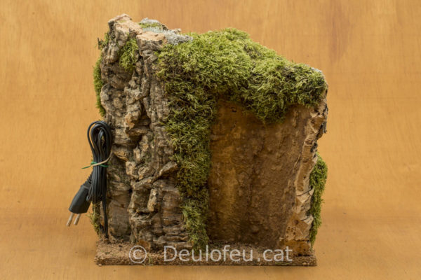 Cova per a figures de col·leccions de 10cm