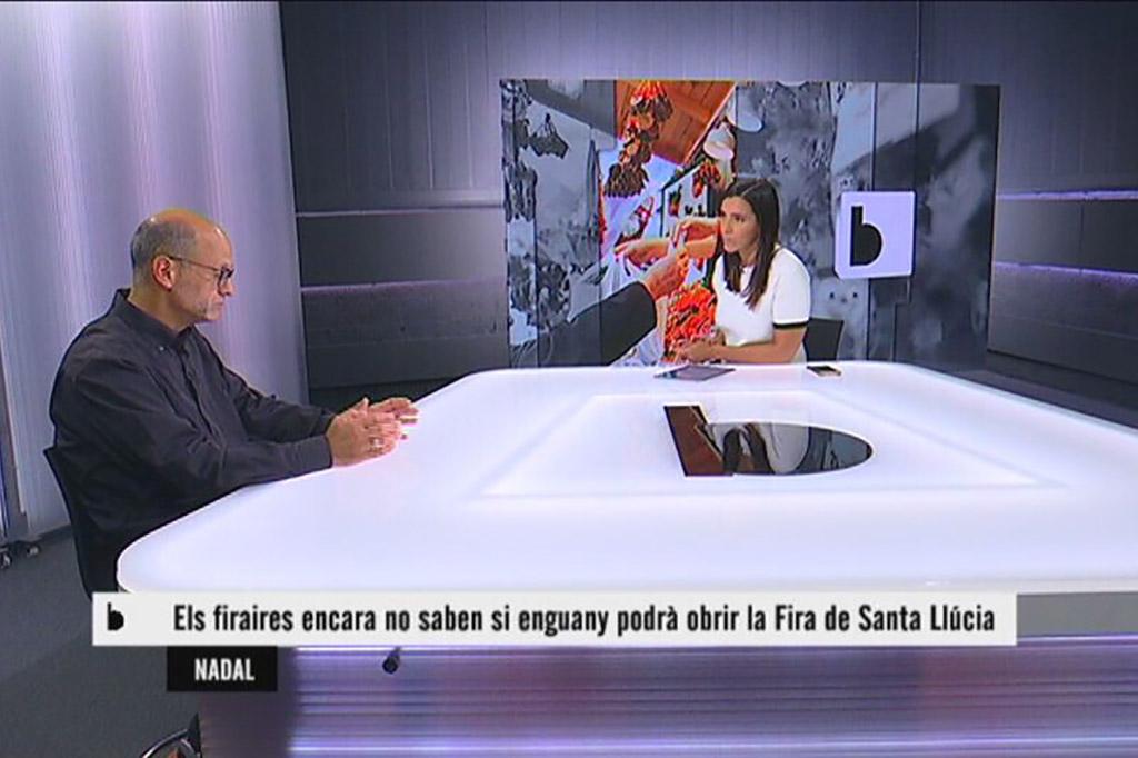 Entrevista a Albert Deulofeu, president de l'Associació Fira de Santa Llúcia
